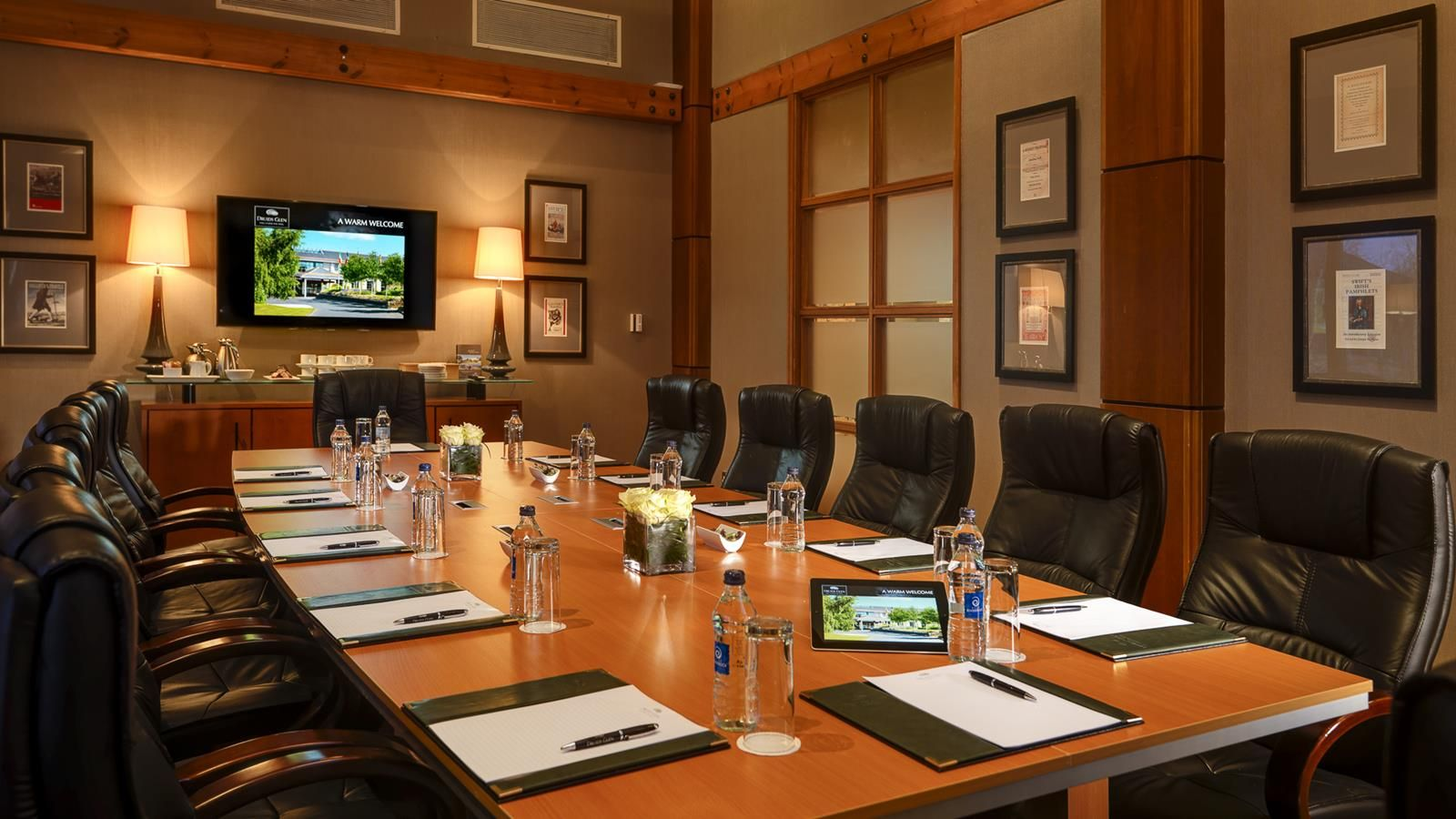 Meetings at druids glen druids glen resort for Small little luxury hotels