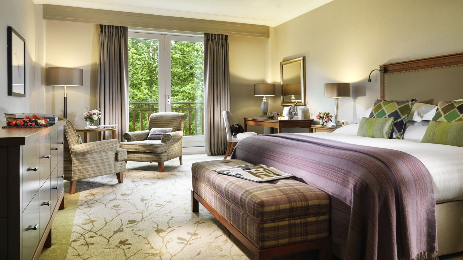 Superior Guestroom Luxury Hotel Wicklow Druids Glen