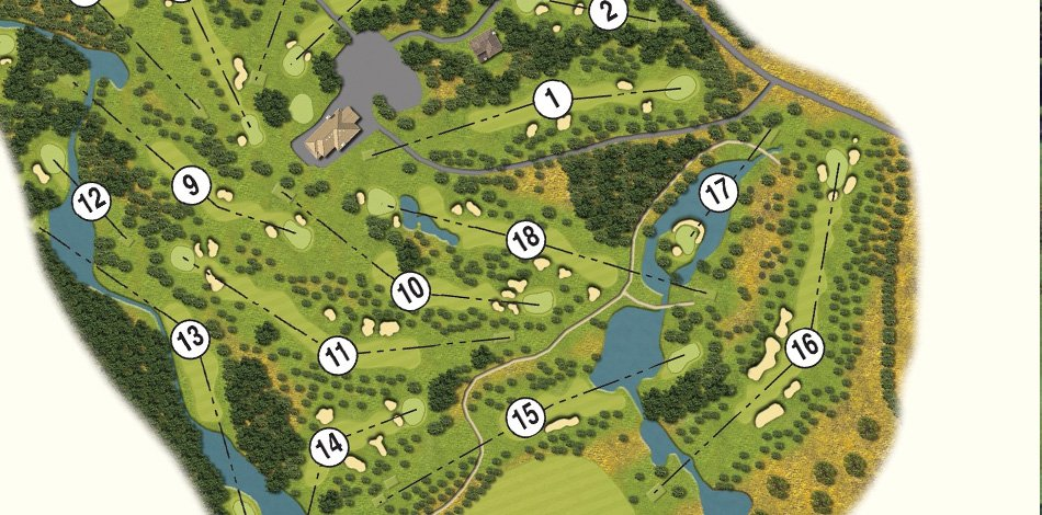 Golf Map Of Ireland.Wicklow Golf Club Druids Glen Hotel Golf Resort